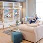Canapé salon bois
