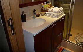 meuble de rangement sous lavabo
