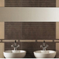 Salle de bain avec lavabo design