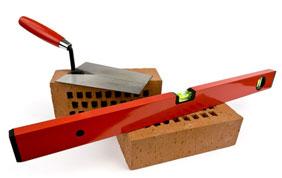 blocs et niveaux pour travaux