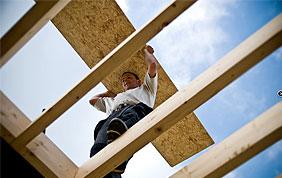 Construction de charpente en bois