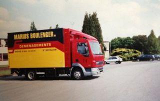camion de déménagement Boulenger