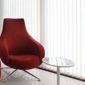 Fauteuil rouge design st stores californiens