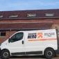 camionnette de l'entreprise Rénovation Hero