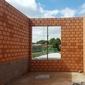murs en brique avec fenetre