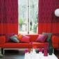 capané et rideaux colorés