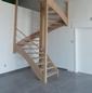 escalier en colimaçon bois