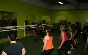 cours collectif de renforcement musculaire