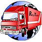 Logo de Ricky Trans : camion rouge