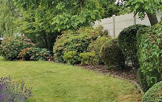 jardin aménagé à Namur