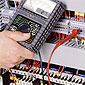 contrôle de l'électricité et des fusibles