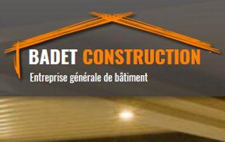 Logo badet, entreprise de construction Namur