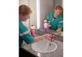 aide ménagère entretien salle de bain