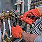Réparation de conduites d'eau