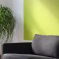 Canapé et mur vert pomme