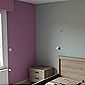 peinture pastel chambre