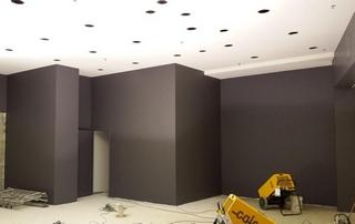 peinture murs brun