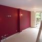 peinture mur rouge