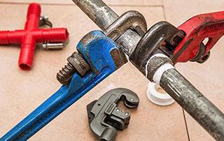 tuyaux réparations plomberie