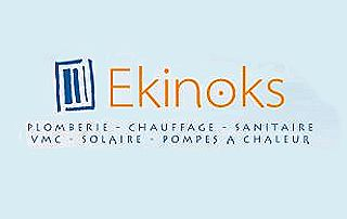 Logo Ekinoks Plomberie chauffage sanitaire