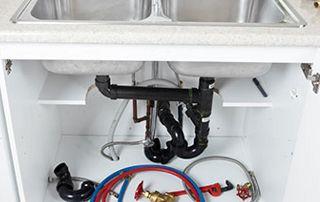 Réparation tuyauterie évier
