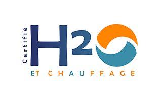 Logo H2O et chauffage