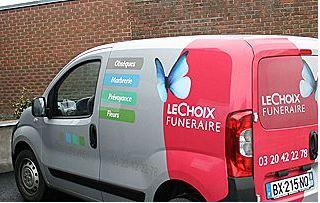 Camionette Le Chois funéraire