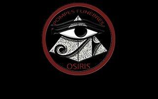 Logo pompes funèbres osiris