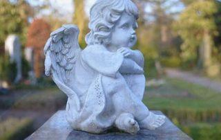 statue ange en pierre