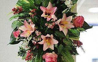 Composition florale funérailles