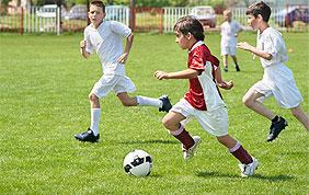 Cours et stages de football pour enfants