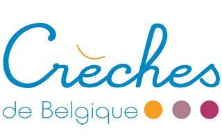 Logo du réseau crèches de Belgique