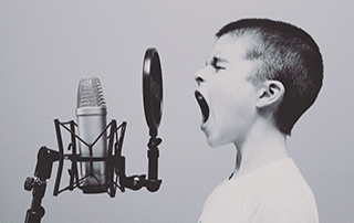 enfant chant
