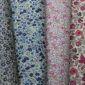 Echantillons de tissus colorés