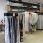 Etalage de tissus confection de rideaux