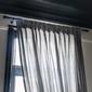 barre de rideaux noire