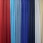 rideaux de couleur