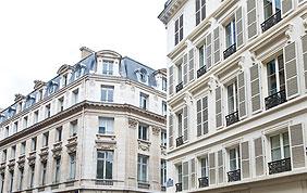 façades immeubles de ville