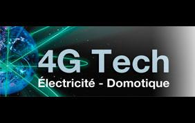 Logo de 4G Tech - Electricité et domotique