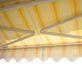tente solaire vue de dessous