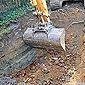 grue excavatrice