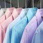 chemises colorées repassées