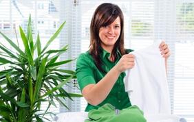 Une aide-ménagère à Jette avec titres-services