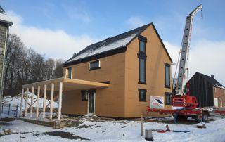 nouvelle toiture sur maison à ossature bois