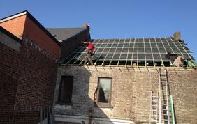 toiture bruxelles - construction et isolation