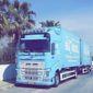 Photographie d'un camion Blondel Demenagement