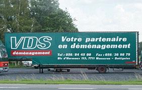 Camion de déménagement VDS