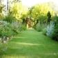 jardin bien entretenu