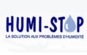 Logo Humi-Stop la solution aux problèmes d'humidité