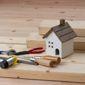 maquette maison et outils